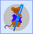 Logo shows mouse holding